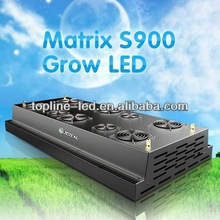 Latest design Matrix S900 90 watt ufo shape 600W 3W LED grow lights