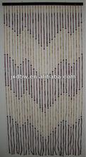 Decorativo del hogar de bambú y madera cortina de cuentas