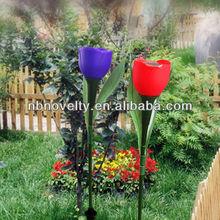 flower solar LED garden light