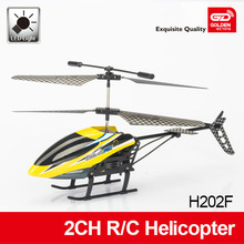 Professional alloy 2-ch rc helicopter toy with light