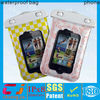 2013 hot sale cute pvc waterproof mobile phone pouch for iphone 4 bag