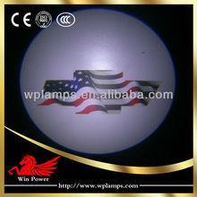 Best price!!! 12V 5W full color cree led car logo door light