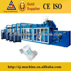 Full Automatic Half Servo High Quality Disposal Pampers Baby Diaper Industrial Machine