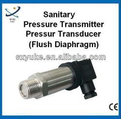 Smart Flush Diaphragm Type Pressure Transmitter for hygienic applications