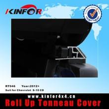 tonneau truck covers soft vinyl roll up for Chevrolet S-10 CD Model 2012+