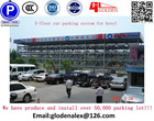 Five-Deck Sideways-Moving and Lifting Type car parking system/hotel smart car parking system/PLC control car parking equipment