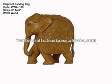 White Wood Handicraft/white wood elephant/wood crafts