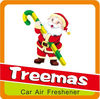 Father Christmas shape gift air freshener paper in 2013 designs