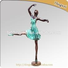bronze sculpture figure dancing girl