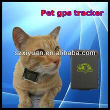 Cheapest protable collar gps cat tk102 gps tracker for pet