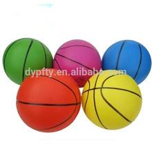 Kids training basketball;promotional rubber basketball