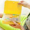 Oficina de colores bolsillos carpetas de documentos