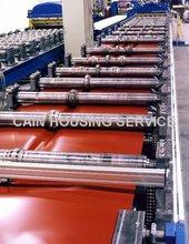 Aluminium Steptiles Roofing Sheet Roll Former