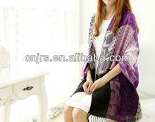 fashion knitted cashmere lady winter shawls