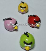 candy colors cartoon cute little bird mp3 with tf card slot