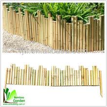 Factory wholesale bamboo fence/Bamboo border edging/ Bamboo edgings