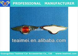 King of birds chrome car badge emblem