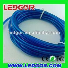 high light intensity 3.3mm EL wire blue