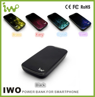 10000mah mobile phone power bank for iPhone / Samsung / Blackberry / HTC / Nokia