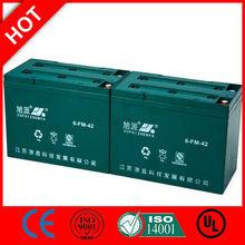 Hot! 36v marine leisure battery packs 6-FM-42/CE UL ISO QS