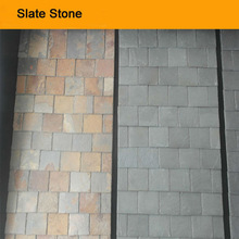 Good price slate walling stone material