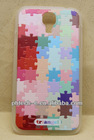 Embossed Plastic PC Skin Cover Case For Samsung Galaxy S4 i9500 SIV