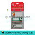 rotolo tag regalo stampato adesivo laminato