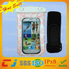 newest armband Waterproof phone bag for samsung galaxy s3 for underwater swimming