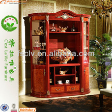 silk screen glass metal pulpit TV cabinet sliding door
