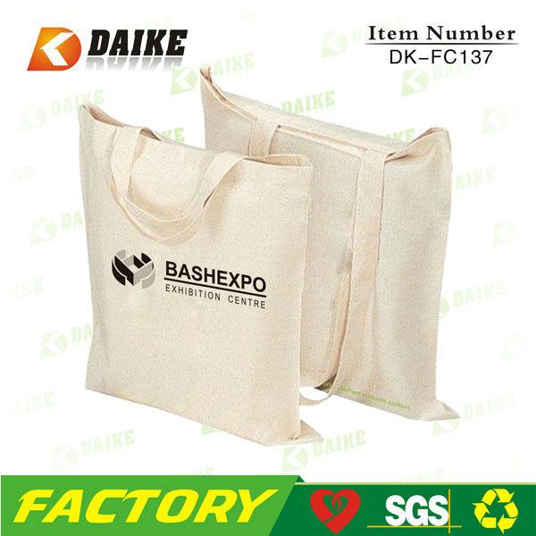 Printed Durable Fashion Cotton Canvas Tote Bag DK-FC137