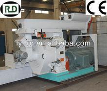 CE/GOST/SGS 6t/h ring die biomass press wood pellets