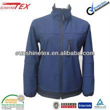 Men softshell hooded jacket