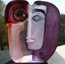 Mats Jonasson Art Glass Sculpture Ideo