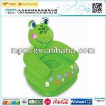 lovey frog shape inflatable sofa for children