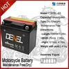 heavy duty motorcycle battery/motorcycle parts japan ytx7e 12V 7AH (YTX7E-BS)