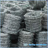 Galvanized Weight Barbed Wire