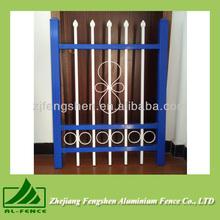 2014 aluminium Double color fence aluminium profile glass fence