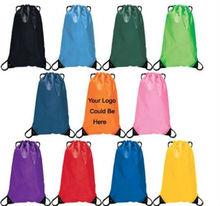 Polyester bag or nylon drawstring backpack