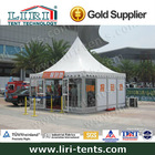 Pagoda Tent as Exhibition Register Center