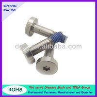 thin head cap screw torx drive screw
