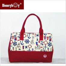 hot selling designer cheap canvas totes handbags woman