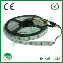 WS2801 rgb led flexible strip waterproof white/black PVC board