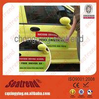 Flexible pvc flag car magnet