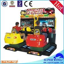 """42"""" LCD full-motion driving car 3d simulator game"""