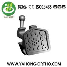 MIM Orthodontic dental bracket/brace 0.018/0.022
