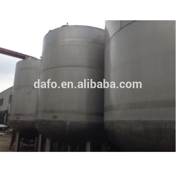 química del tanque de almacenamiento