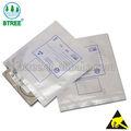 Anti-estático ziplock saco de alumínio para a eletrônica