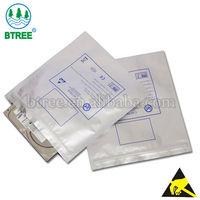 Antistatic Ziplock Aluminium Foil Bag For Electronics