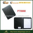 2014 the newest design bonder leather portfolio case for mini and document folder