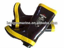 Polythene Cheap Rubber Fireman boots/rubber boots